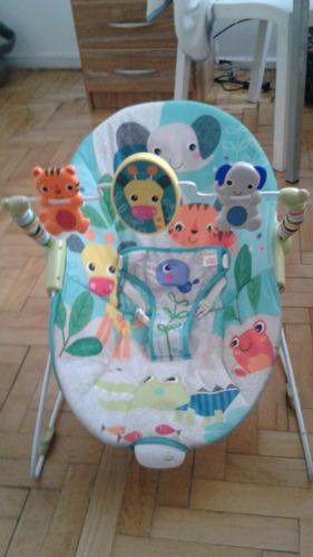 silla bebe mecedora