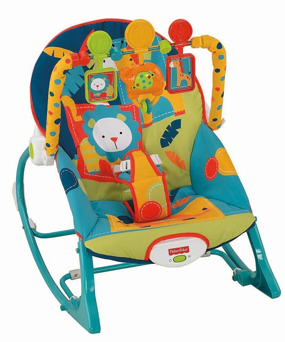 fe23642e2 silla bebe mecedora vibradora fisher price dark safari. Cargando zoom.