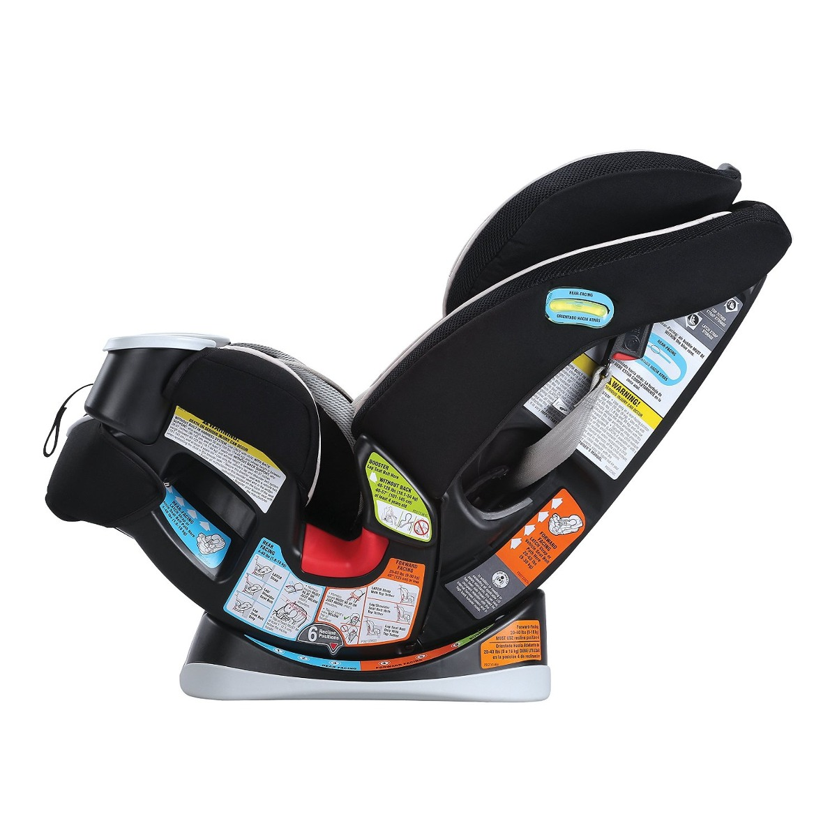 Silla de beb para carro graco 4ever all in one de asiento for Silla para coche nino 4 anos