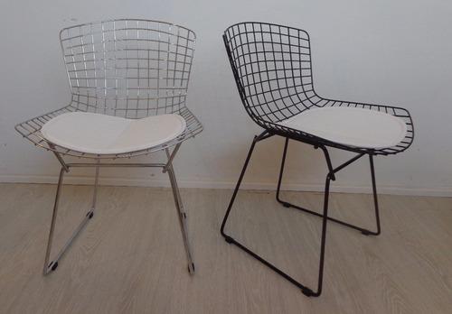 silla bertoia cromada o pintada