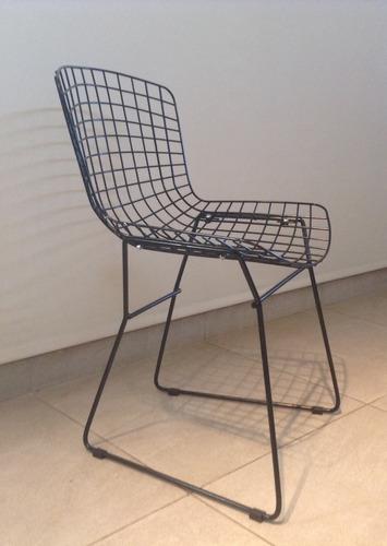 silla bertoia - pintada - con almohadon