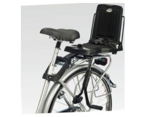 silla bicicleta niño bobike junior 20-50kg negra