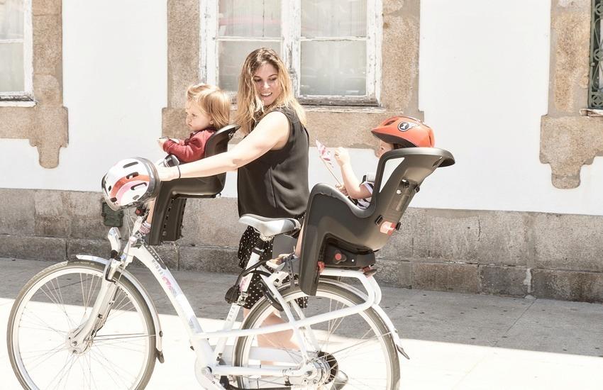 Bilby RS seguridad de asiento para niños atrás ajustable bicicleta asientos para niños bicicleta