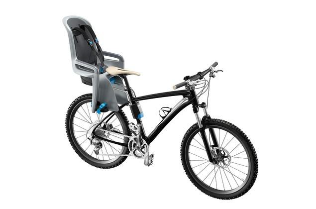 06b1029cc Silla Bicicleta Trasera Niños Thule Ridealong Gris Claro -   149.980 ...