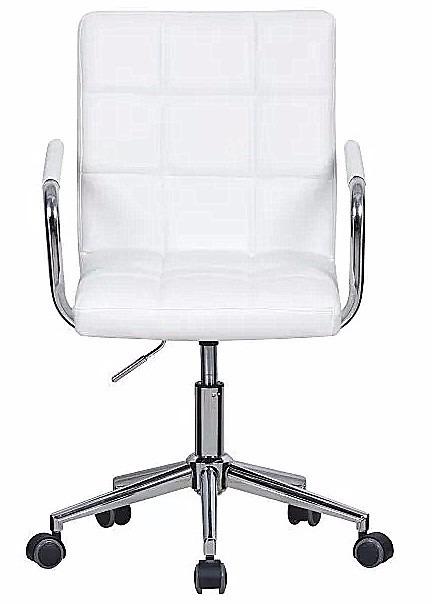 Silla blanca peluqueria oficina consultorios escritorio for Sillas escritorio uruguay