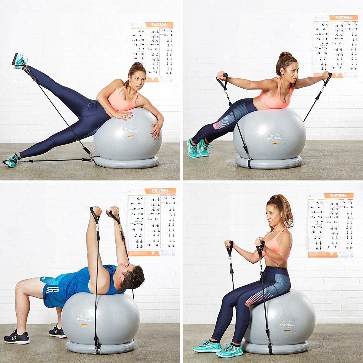 4088a8081 silla bola del ejercicio - 65 cm y 75 cm yoga de la aptitud. Cargando zoom.