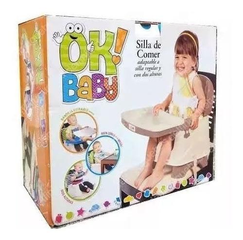 silla booster de comer portátil bebe bandeja 2 alt b evotech