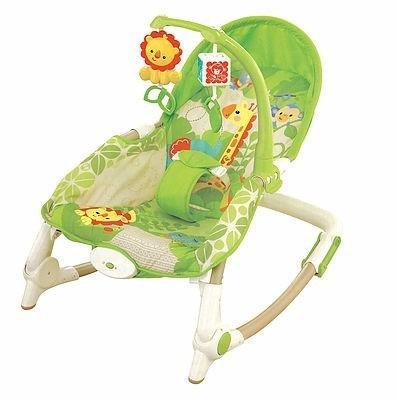 Silla bouncer bebe con vibraci n mecedora 0 4a os u s for Silla coche nino 4 anos