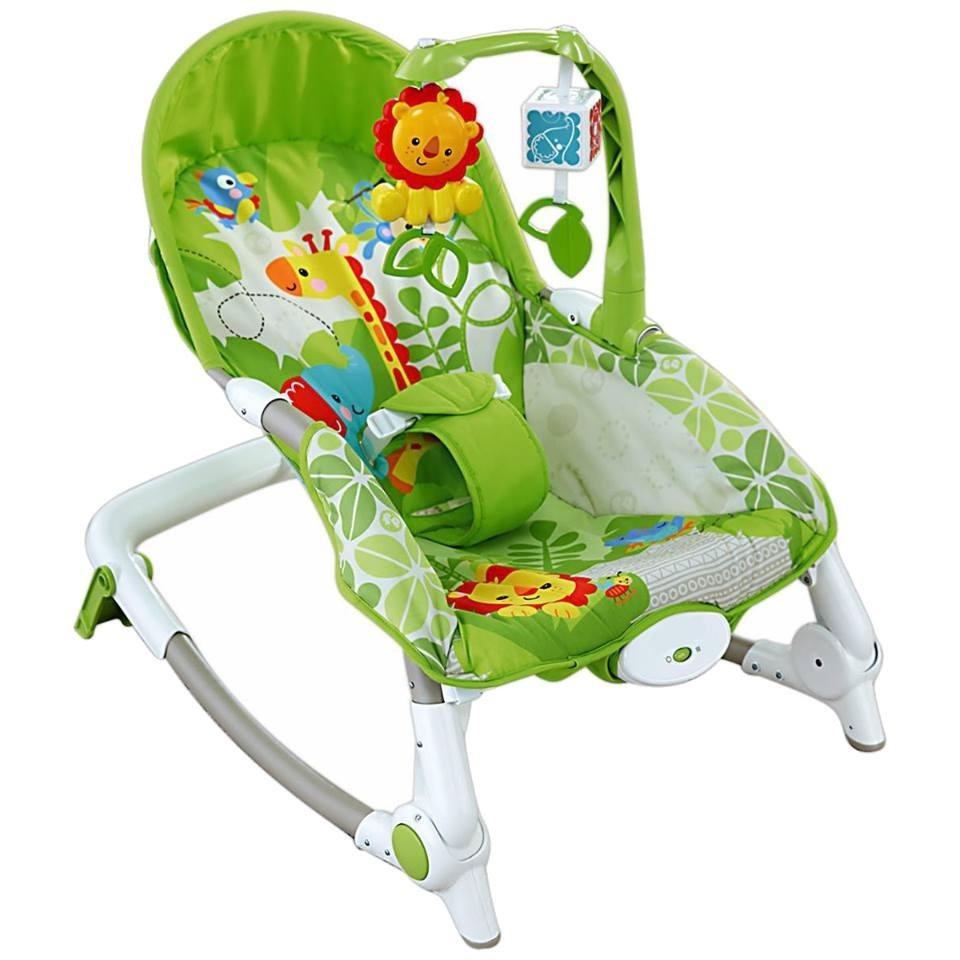 Silla bouncer bebe con vibraci n mecedora 0 4a os u s for Silla para coche nino 4 anos