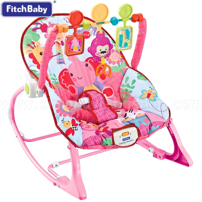 Silla bouncer c vibracion bebe 3 colores 0 18kg mvd kids for Silla mecedora para bebe