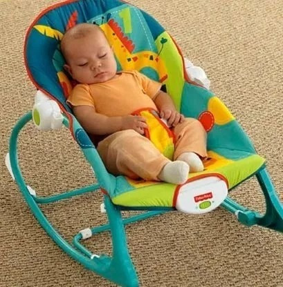 silla bouncer mecedora musical fisher price 18kg nuevo !!!!