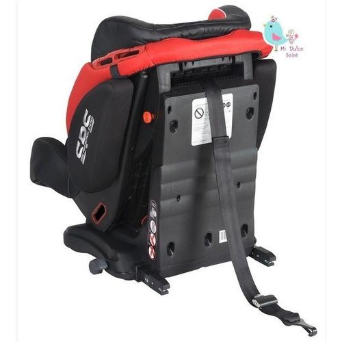 silla butaca reclinable elite isofix infanti bh12312i rojo