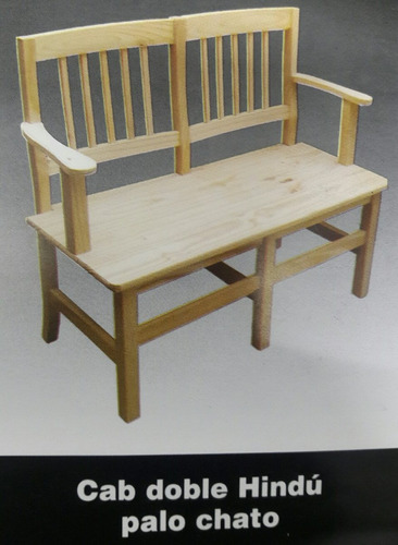 silla cabecera doble