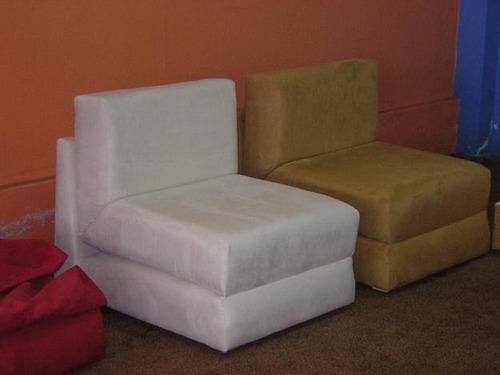silla cama 70x70x185 todos los  colores- envio gratis