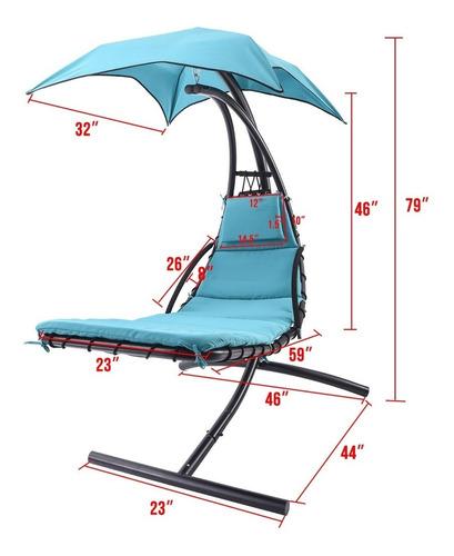 silla camastro para jardín