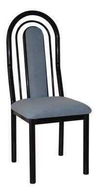 silla caño lagos sa poema c/neg 1 1/2'' cuerina tiz
