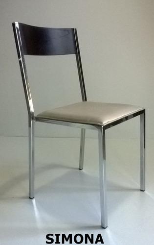 silla caño sala estar comedor