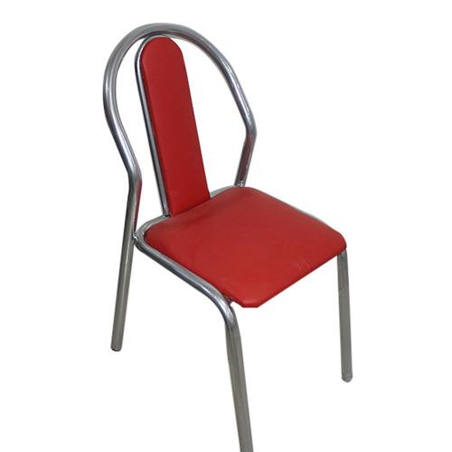 silla caño unicam america r  mod: tap.rojo