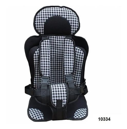 silla carro bebe cuadros negro unisex infantil 0- 6 años w01