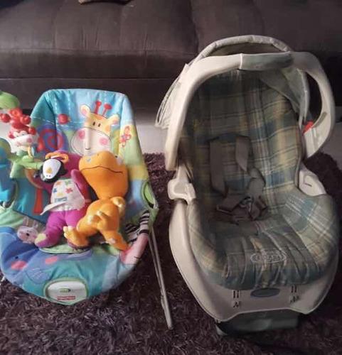 silla carro para bebé