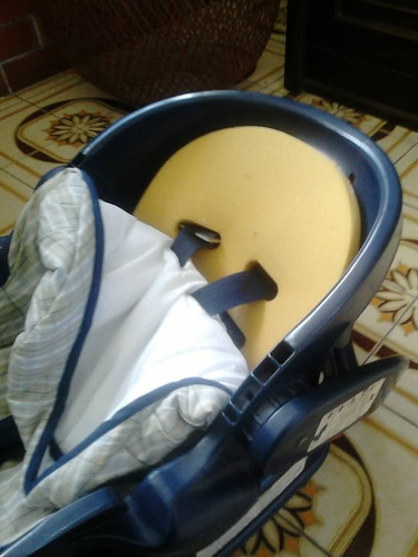 silla carro porta bebe graco