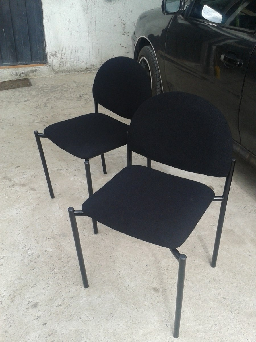 Silla censa para visita muebles de oficina u s 20 00 en for Sillas de oficina usadas