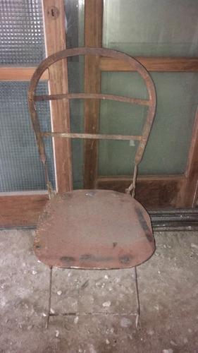 silla chapa bar antigua