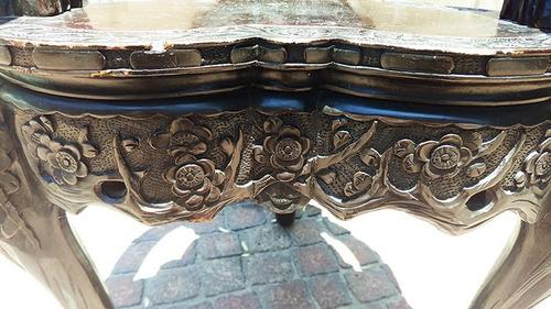 silla china finales siglo xix - tallada en madera