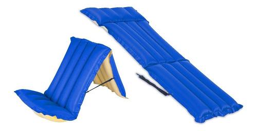 silla colchoneta inflable de camping - charrua store
