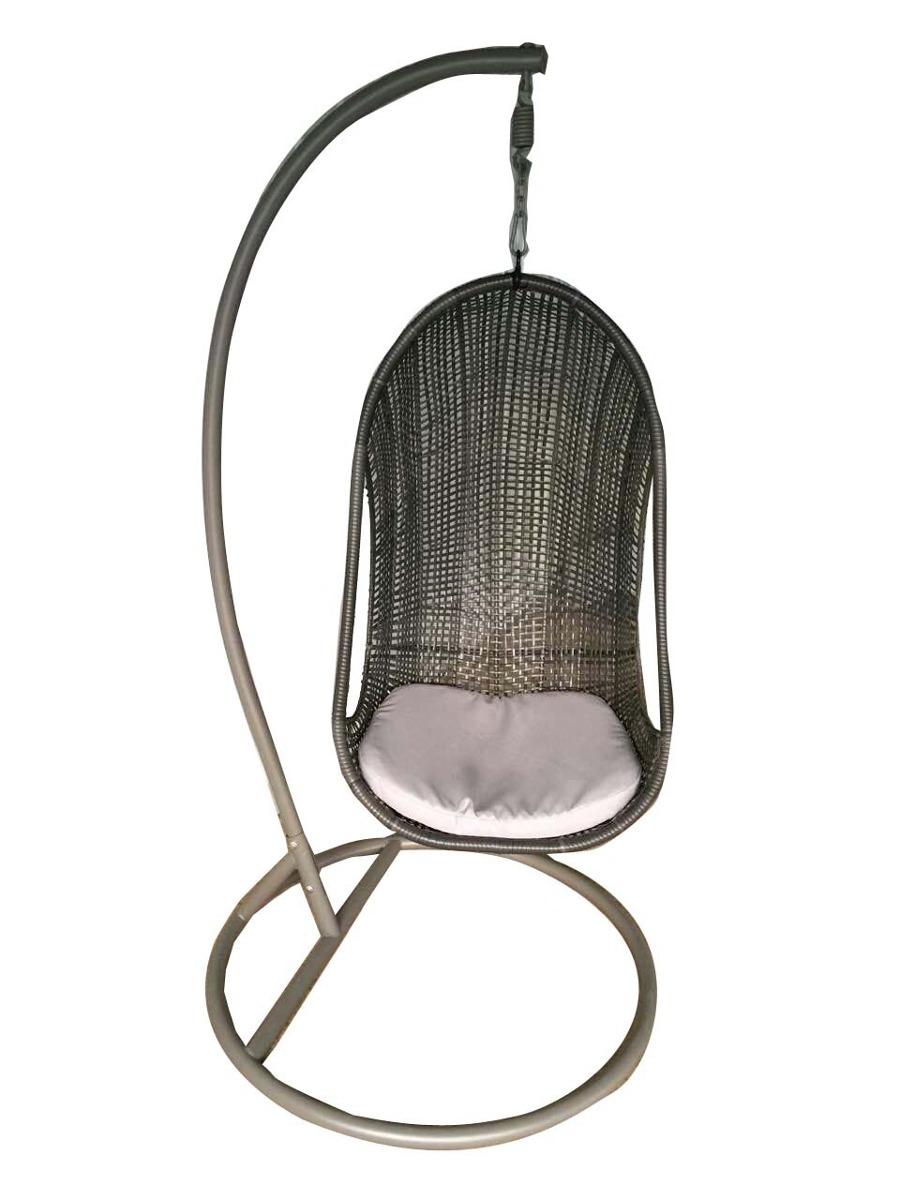 silla colgante columpio en rattan sint tico 5 On silla colgante