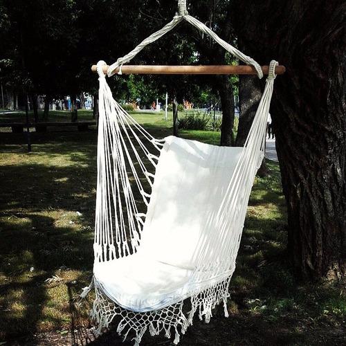 silla colgante - silla paraguaya - sillon- hamaca