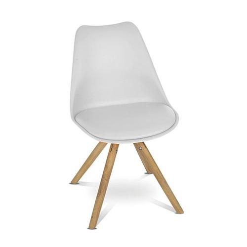 silla comedor arianda blanca