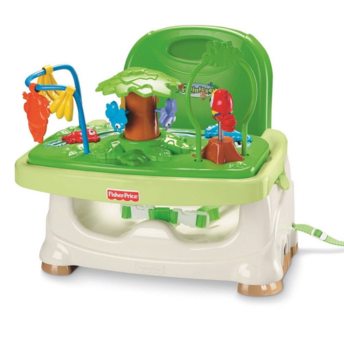 silla comedor bebé fisher price rainforest portátil 2 en 1