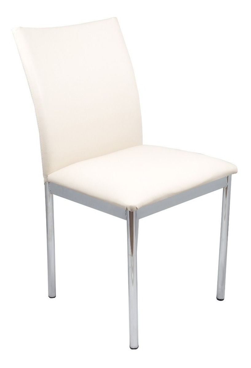 sillas de comedor cromadas
