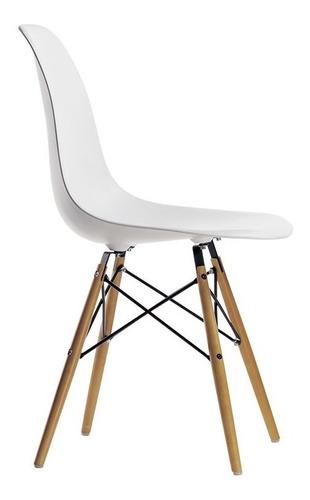 silla comedor eames f901000 patas de madera env *10