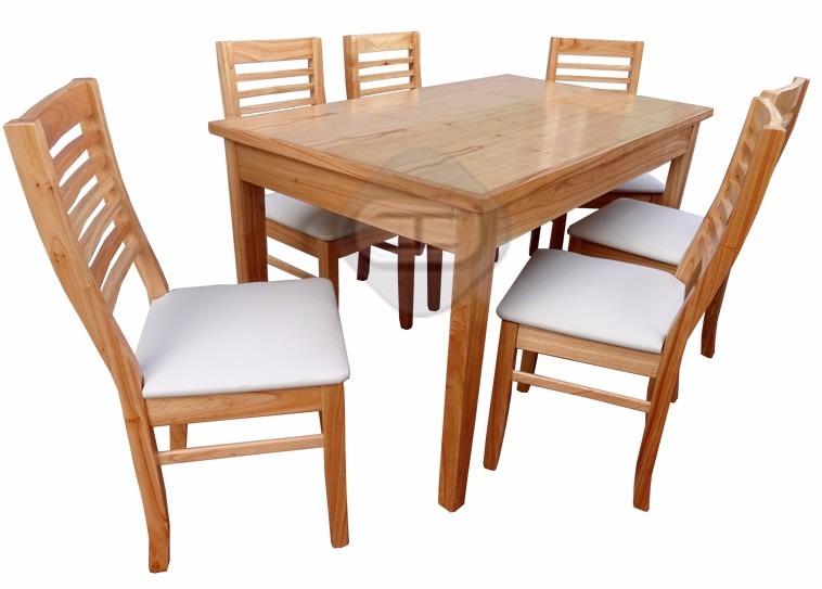 Sillas de comedor de madera for Modelos de mesas de comedor de madera