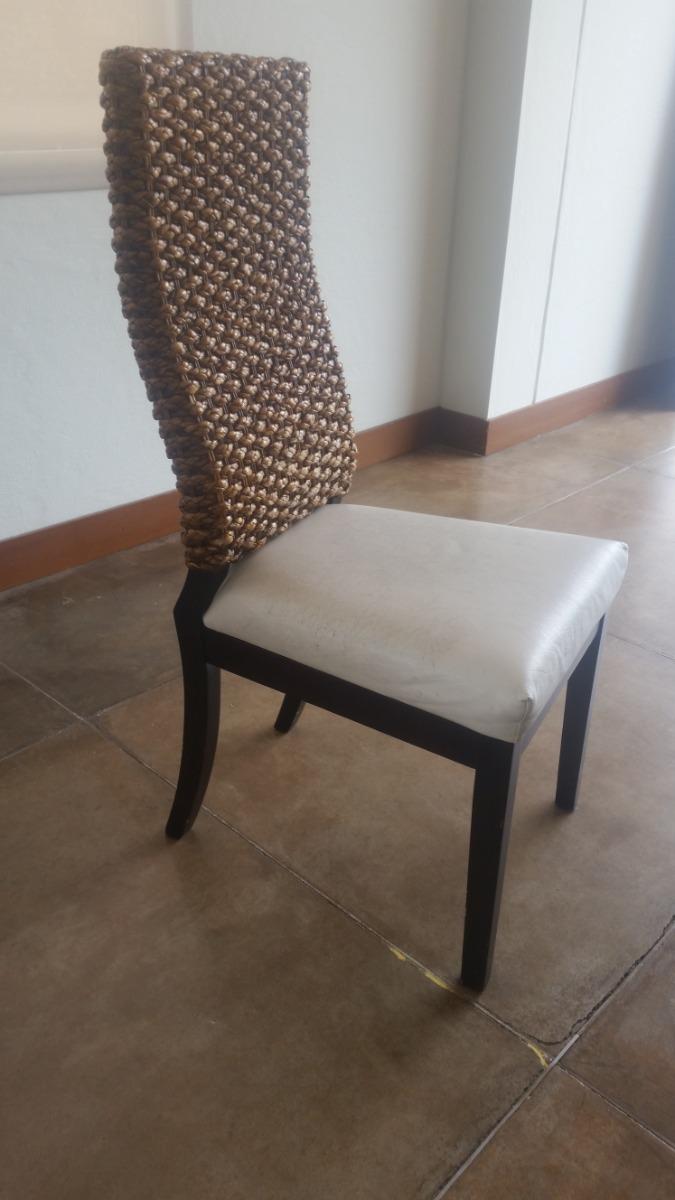 Silla Comedor Moderna, Madera - $ 150.000 en Mercado Libre