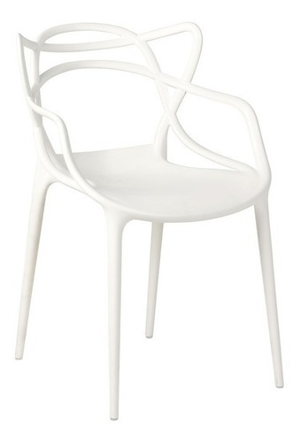 silla comedor polipropileno  master blanco o negro unican