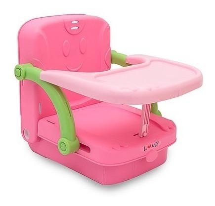 silla comer bebe love 627 booster portatil plegable compacta