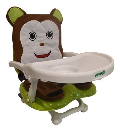 silla comer bebé portasilla avanti monito plegable viajes