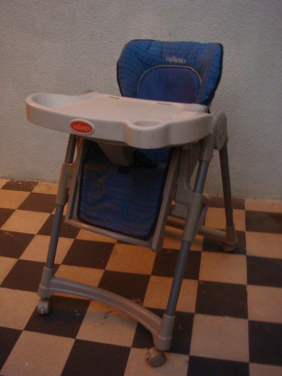Silla comer infanti para bebe cochecito plegable y ba ito for Sillas montevideo