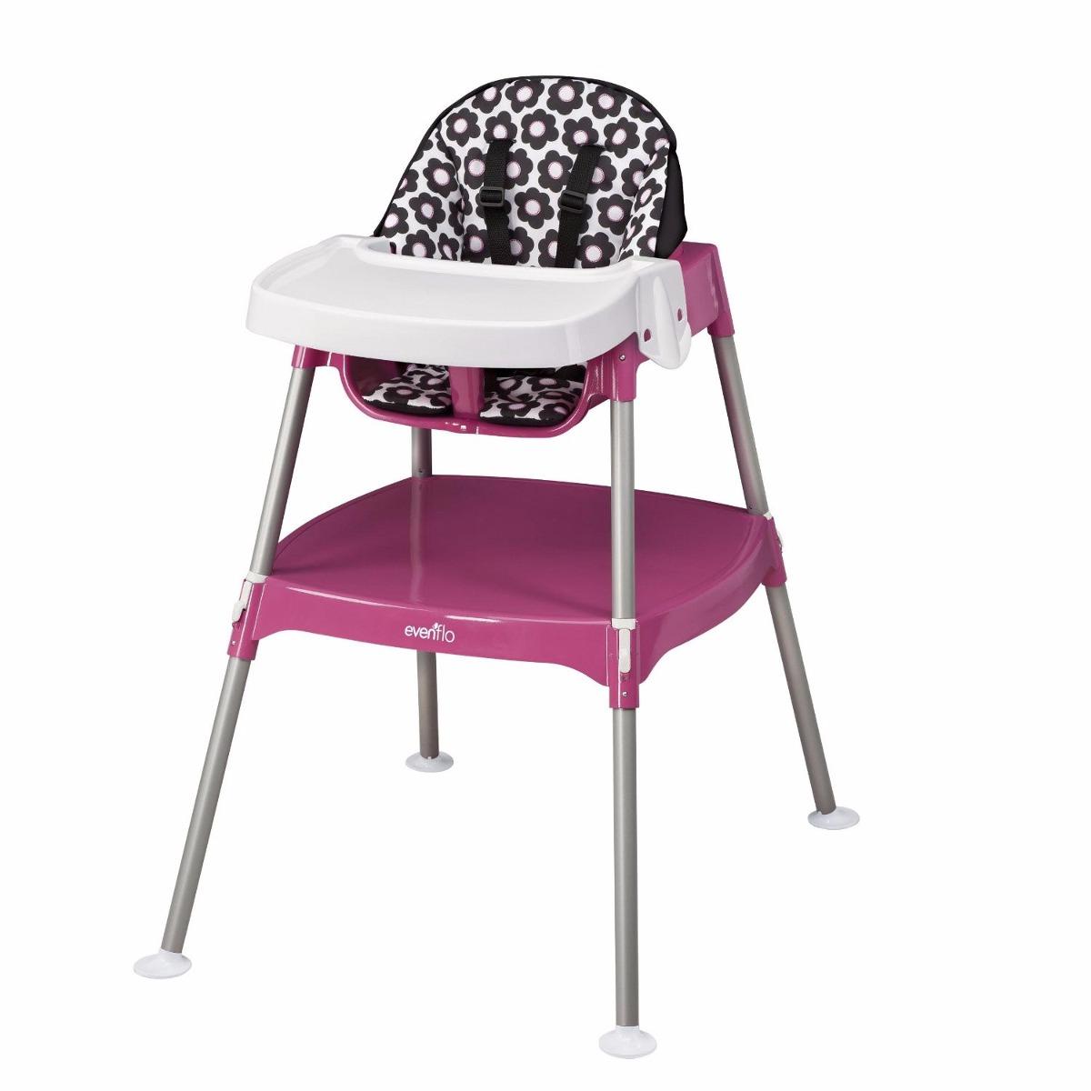 Silla alta sillita mesa 3 en 1 comer periquera bebe evenflo 2 en mercado libre - Silla de mesa para bebe ...