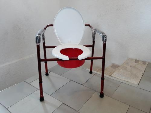 silla  comodo 3 en 1 sobrepeso (comodo/ducha/aumento wc)