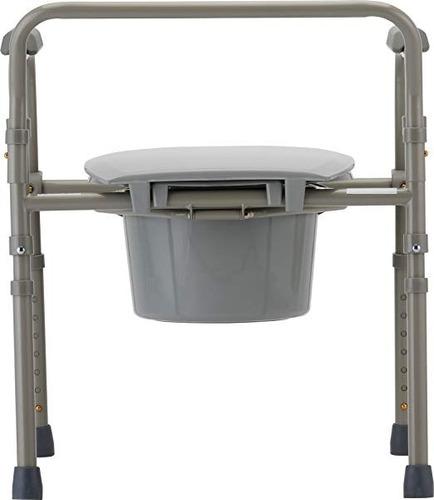 silla comodo aumento ducha para wc baño 3 en 1 plgable drive