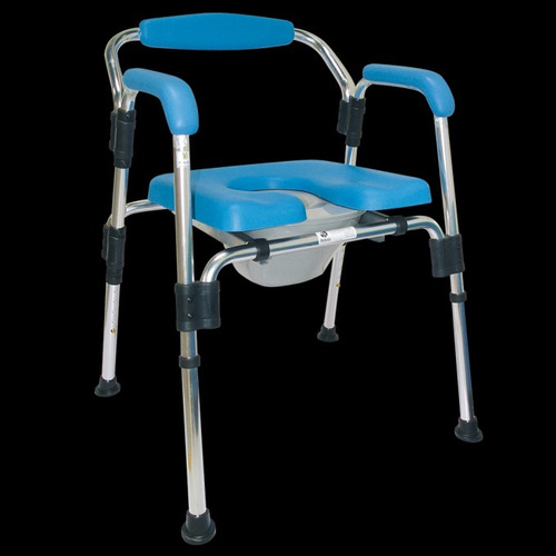 silla comodo ducha acojinado 3 en 1
