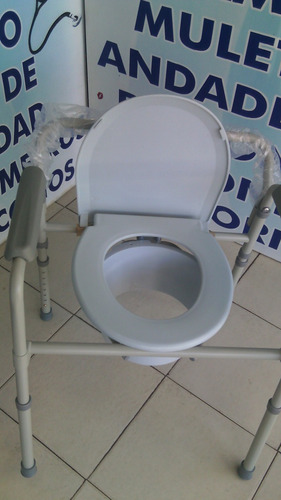 silla comodo ducha aumento baño wc 3 en 1 plegable