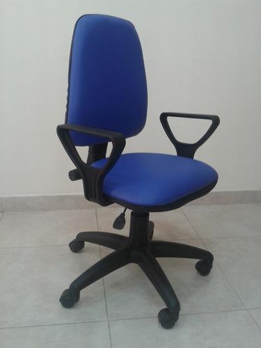 silla con base giratoria con respaldo alto operativa