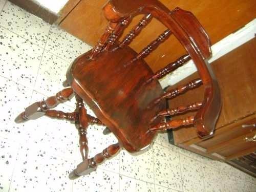 silla con brazuelos original estilo californiana