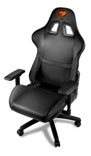 silla cougar armor gaming / negro- completo