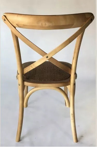 silla cross madera vintage thonet madera de comedor